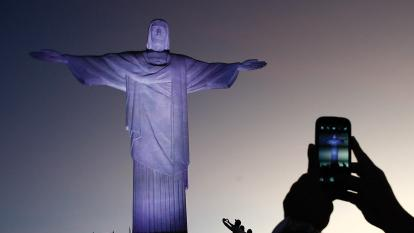 Brazil Christ phone teaser