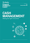 Cash management: Making the right connections