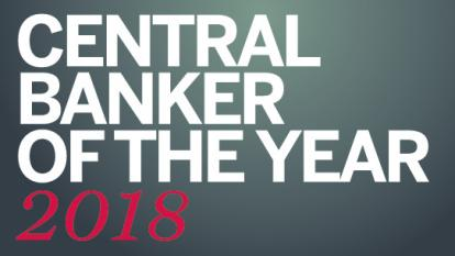 Central Banker of the Year 2018 logo teaser