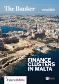 Finance clusters in Malta