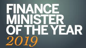 Finance minister of the year 2019