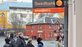 Stable footing: Lithuanian banking is dominated by Scandinavian lenders such as Sweden's Swedbank
