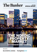Nordic property market cover