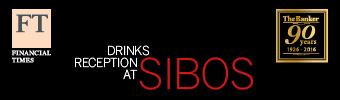 Reception drinks at SIBOS