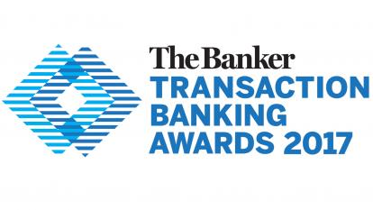 Transaction Banking Awards 2017 logo
