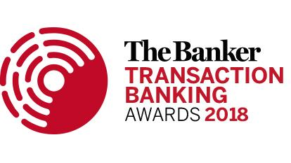 Transaction Banking Awards 2018 logo